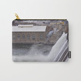 The Dam in Winter Carry-All Pouch