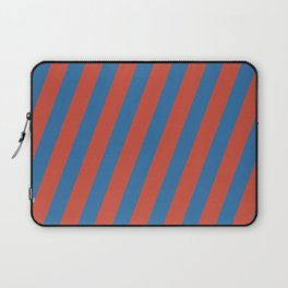 Royal Stripes (Nebulas Blue and Red Pear) Laptop Sleeve