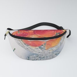 Cherry Crystal Fanny Pack