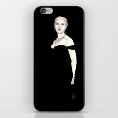 Black and Scarlett  iPhone & iPod Skin