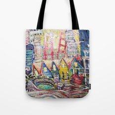 SF Glance Tote Bag