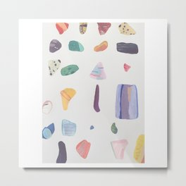 ColourStones Metal Print