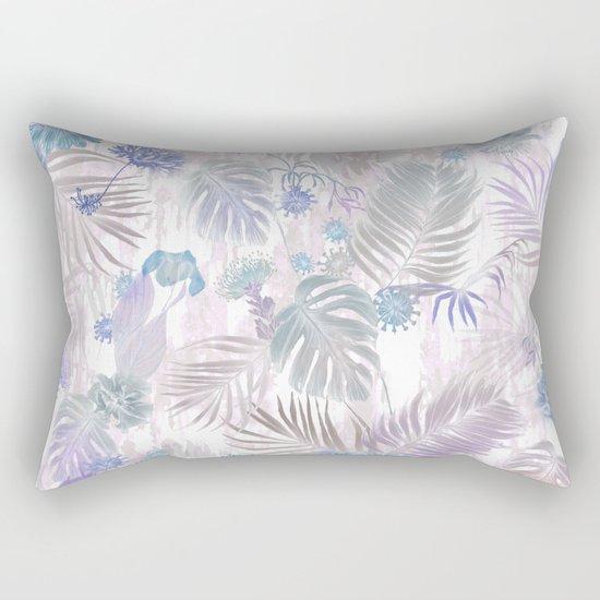Tropical Iridescence- Pastels  Rectangular Pillow