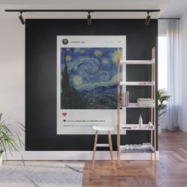 The Insta Night Wall Mural