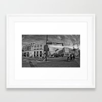 central perk Framed Art Prints featuring Central  by 50one50 photography