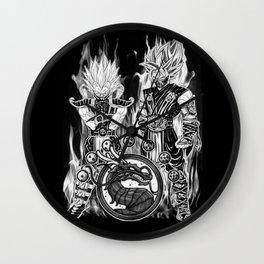 Goku & Vegeta in Mortal combat Cosplay Wall Clock
