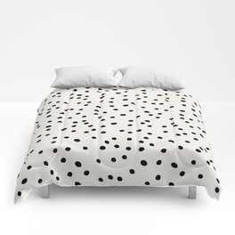 Preppy Spots Digita Drawing Comforters