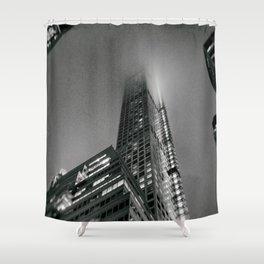 Fog - New York City Shower Curtain
