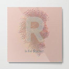 R is for Rachet Metal Print