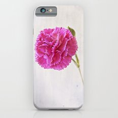 Carnation on paper iPhone 6s Slim Case