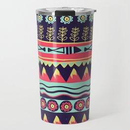 Scandinavian pattern Travel Mug