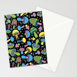 Shroomin Blacklight Stationery Cards