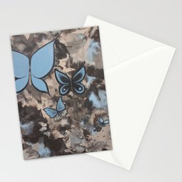 Butterflies for Mom Stationery Cards