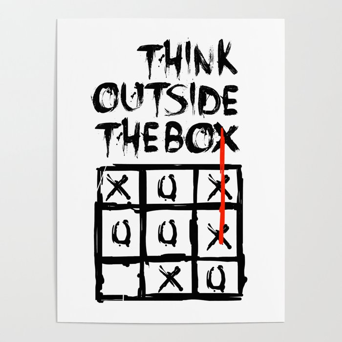 Image result for THINK OUTSIDE THE BOX