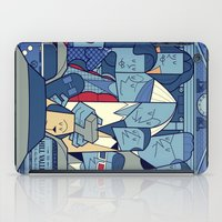 back to the future iPad Cases featuring Back to the Future by Ale Giorgini