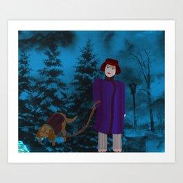 COME ALONG, LADY Art Print