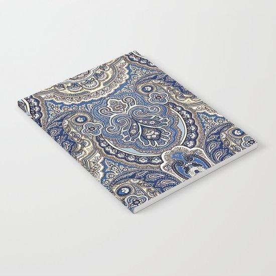 Boho paisley pattern Notebook