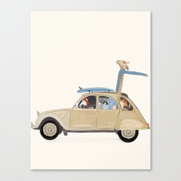 road trip deux Canvas Print