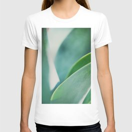 all the curves of the leaf ...  T-shirt