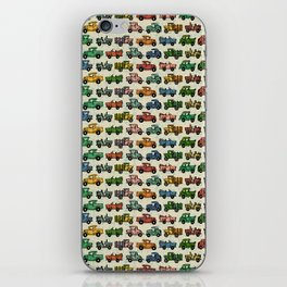 Cars and Trucks iPhone Skin