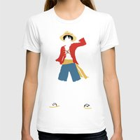 luffy T-shirts featuring Monkey D Luffy by JHTY