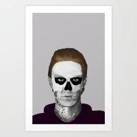 ahs Art Prints featuring AHS : PSYCHOPATH by Andrea Valentina