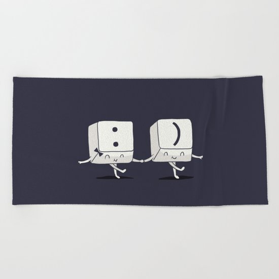 Happy Ever After Beach Towel