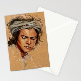 H tan paper Stationery Cards