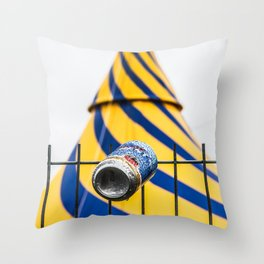 Canned Throw Pillow