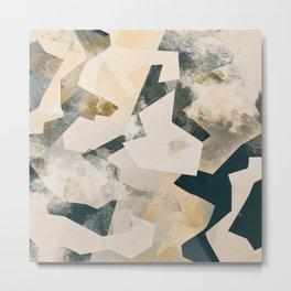 Camouflage L Metal Print