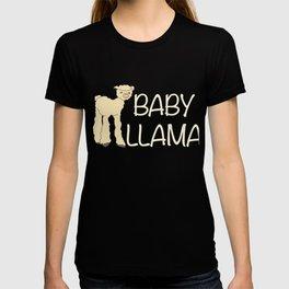 Baby Llama Cute Alpaca Farmer Peruvian Pet T-shirt