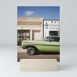 Green Impala on 35mm Mini Art Print