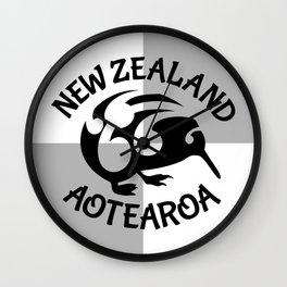 KIWI Aotearoa | New Zealand Wall Clock