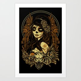 Night of the Dead Art Print