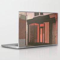 subway Laptop & iPad Skins featuring Subway by Janet Wareing