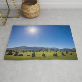 Castlerigg Stone Circle in English Lake District Rug
