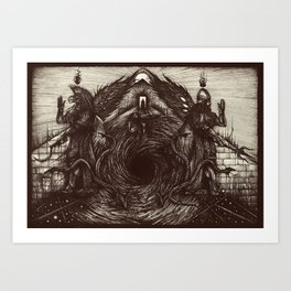 The Dreaming Maelstrom Art Print