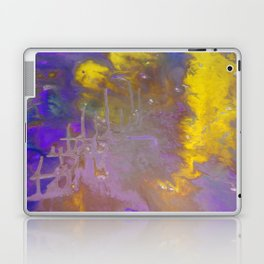 Blue & Yellow Laptop & iPad Skin