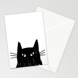 Jess The Black and White Cat Stationery Cards