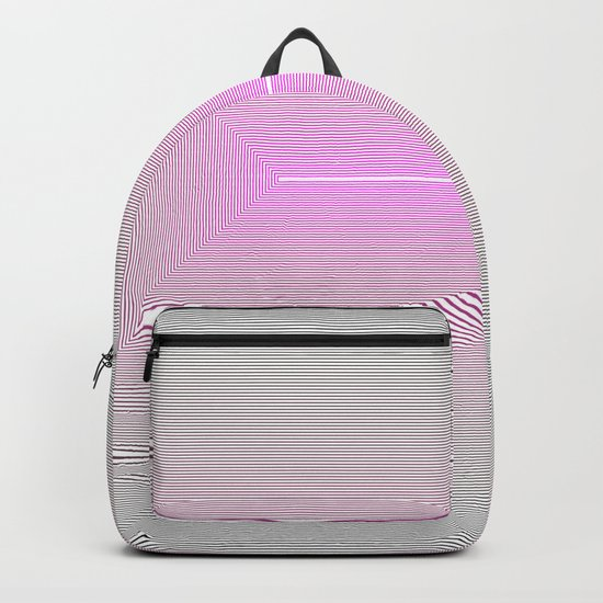 the Art of view,  the end of the Tunnel Backpack