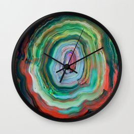 Rhythm Bruises Wall Clock