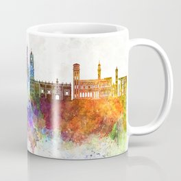 Sucre skyline in watercolor background Coffee Mug