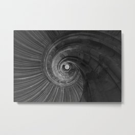 Sand stone spiral staircase 001 Metal Print