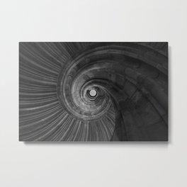 Sand stone spiral staircase 001 Metal Print