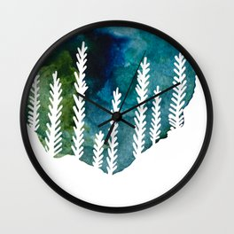 The Trees That Surround Us Wall Clock