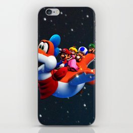 fly free iPhone Skin