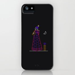 Monlight Singing iPhone Case