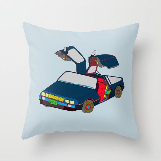 Cool Boys Like Flying Cars Throw Pillow