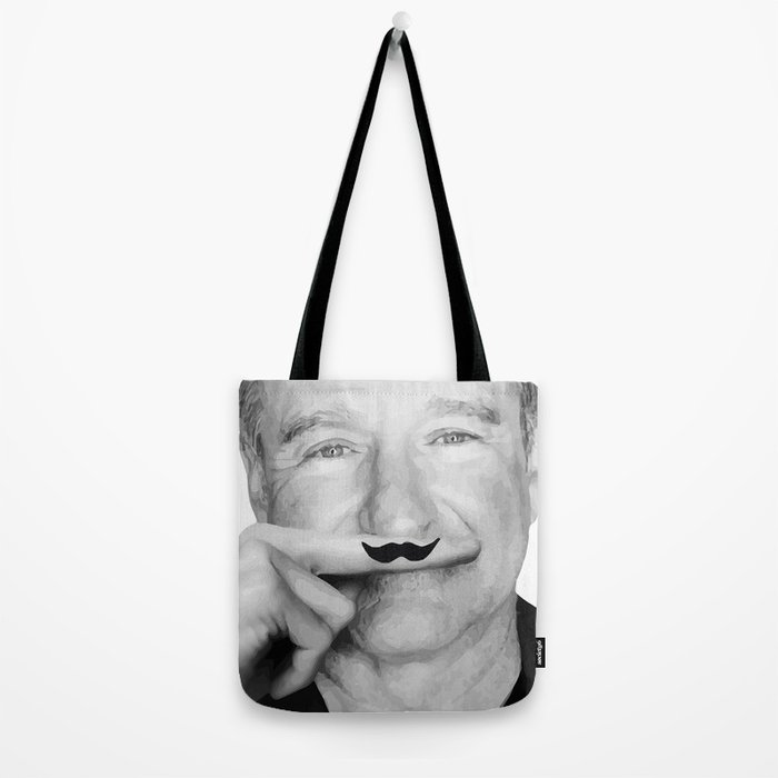 Robin Williams Life is a joke Tote Bag