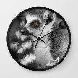 #Funny #Animals from #Madagascar Wall Clock